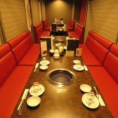 個室席最大35名様迄宴会可能