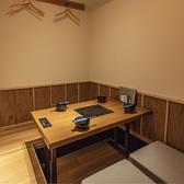 個室は人数に応じてお席を変動できます。