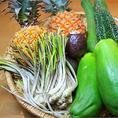 一年中沖縄気分!!沖縄から空輸の食材で本場の味を堪能♪うちな~から美味しくて栄養いっぱいの食材が届いさぁ☆でぇじまぁさんどぉ~で♪(訳:とっても美味しいよ~♪)材料からこだわった本場の味は絶品♪野菜も豊富で健康にも良し!!