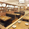 明るく誠意あるサービスが心地よい空間♪にぎやかな店内でおいしいお料理&お酒を…