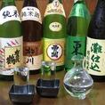 生も飲める!日本酒は全7品全て純米♪女性1500円・男性2000円(税抜)の飲み放題は全200種以上★