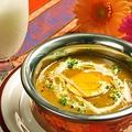 料理メニュー写真挽肉と卵のカレー