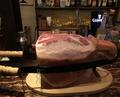 料理メニュー写真イタリア・サンダニエーレ産生ハム切落し リーフミックスの生ハムサラダ 自家製ゴマドレッシング