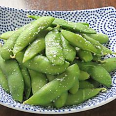 茹で上げ枝豆