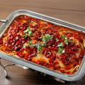 料理メニュー写真重慶麻辣焼き魚煮込み ※白身魚を使用しています。活魚の場合は予約が必要です。