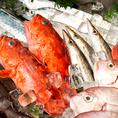 瀬戸内海の荒波を泳ぐ新鮮な海の幸を季節の旬に合わせてご提供致します。魚の種類に合わせてお酒を替えてみるのもお愉しみのひとつ。