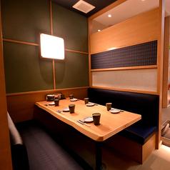 【少人数半個室】2~4名用/ゆったりとしたプライベート空間