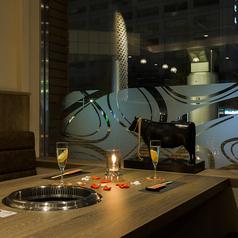 デートや接待に最適な半個室風のソファー席もございます