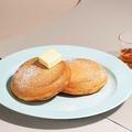 料理メニュー写真ビブリオピュアバターパンケーキ