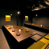 全席完全個室のデザイナーズ空間♪夜景が望めるお席も♪