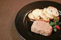 料理メニュー写真白レバーのパテ(スライスバゲット付)