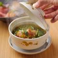 料理メニュー写真胡麻豆腐の揚げだし 毛蟹餡かけ