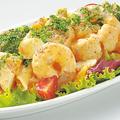 料理メニュー写真えびとペンネの欲張り野菜サラダ