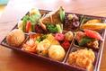 (台湾満喫弁当)ちょっと贅沢な時間を過ごされる時には・・・寒い屋外で食べられる時等にこのお弁当箱は心も身体もあったかくなります。お料理の変更等はご遠慮なくお申し出下さい。尚季節に応じて内容が異なる場合もございます。ご了承下さいませ。2000円(消費税別)