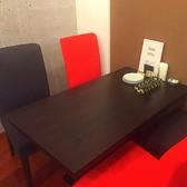 4名様テーブル☆落ち着いた店内は女子会や食事会にもおすすめです!