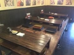 各種ご宴会に最適♪掘りごたつで快適6人テーブルで広々!