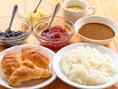 スープ・パン・そして大好評のカレーも食べ放題♪ブッチャーズテーブルはビュッフェコーナーが大充実!人気の理由がココにもあります!!