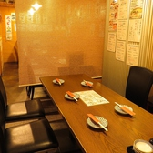 オープンなテーブル席♪