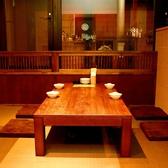 4名、6名などの飲み会もお任せあれ♪窓際は雰囲気も良く、人気のお席です!