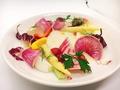 料理メニュー写真季節野菜たっぷり冷製バーニャカウダー