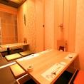 8名様用掘りごたつ個室。
