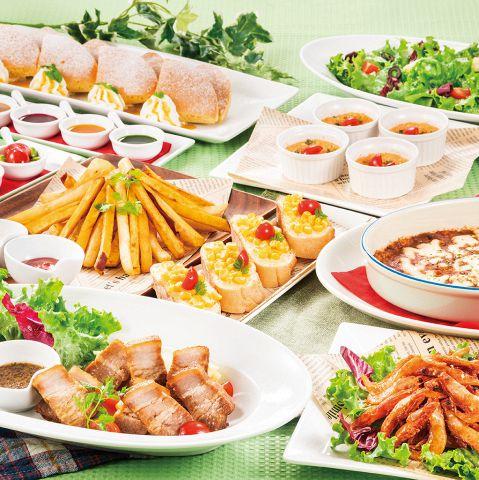 ボリュームたっぷりで充実のお料理。飲み放題付のコースもご用意し、各種ご宴会にも最適です!今日は食べて飲んで歌って楽しんじゃおう!!
