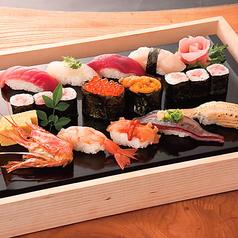 特上寿司盛り合わせ