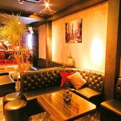 落ち着いた雰囲気のソファー席はデート、女子会、合コンにもぴったり◎お気軽にお問合せください!
