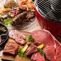 料理メニュー写真【新橋店限定】テラスで楽しむBBQ「肉・魚」プランをご用意!