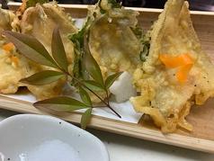 キスゴの梅しそ天ぷら