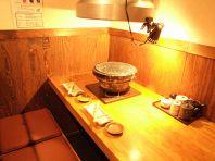 清潔感溢れるテーブル席☆