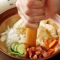 料理メニュー写真お客様が仕上げる ポテトサラダ