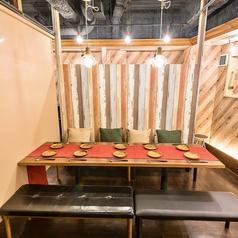 ご利用シーン合わせて選べる個室が多数!10名様個室・15名様個室も完備!