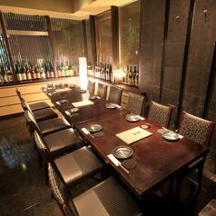 30名様までご利用できるテーブル個室は、大人数でのご利用にピッタリです。各種ご宴会やパーティーでのご利用にも是非どうぞ。