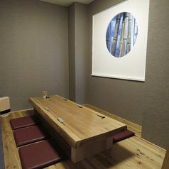 様々なシーンでご利用いただける個室席。人気のお席となっておりますのでご予約はお早めに。