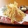 さきいかの天ぷら 一味マヨで