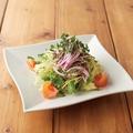 """料理メニュー写真■畑のキャビア""""とんぶり""""とスプラウトのミネラルサラダ"""