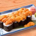 料理メニュー写真特大サイズ 生うに軍艦寿司