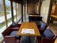 「cafe ISOYA」テーブル席