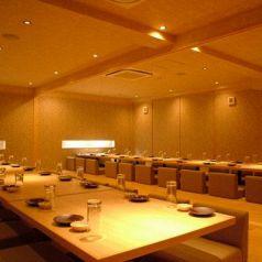 最大70名様までOKの宴会個室です。