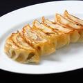 料理メニュー写真焼き餃子/ピータン豆腐/ザーサイの和え物