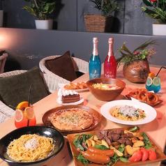 ツリーハウスレストラン Star Chill スターチルのコース写真