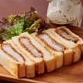 料理メニュー写真酵母豚自家製カツサンド