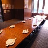 6名様迄用掘り炬燵式テーブル