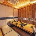 個室は人数に応じてお席を変動できます。【もつ鍋 前田屋】