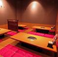 30名様収容の完全個室もご用意!広々空間は各種宴会にピッタリです♪