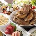 山ちゃん 南池袋店では、各コースに飲み放題付きのプランをお付けしたコース料理を多数ご用意致しております。コース料理は3,500円~ご提供させていただきます。また、その他にも多数の居酒屋ならではの一品料理をご堪能いただくことができます。