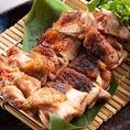 宮崎日向鶏 燻し焼きです♪