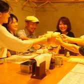 お店自慢の日本酒棚はカウンターの後ろに!全国津々浦々のお酒をご用意しております。その数約40種!!