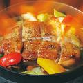 料理メニュー写真灼熱のファイヤーガーリックチキン